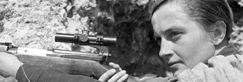 Woman at War:  Lyudmila Pavlichenko, the Sniper Who Shot Down Gender Norms