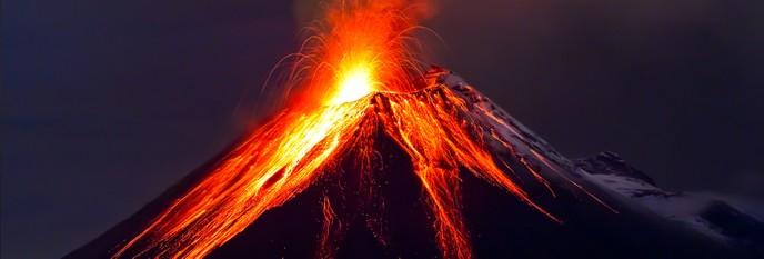 Hawai'i to Mt. Tambora: Volcano Eruptions and Their Creative Destruction