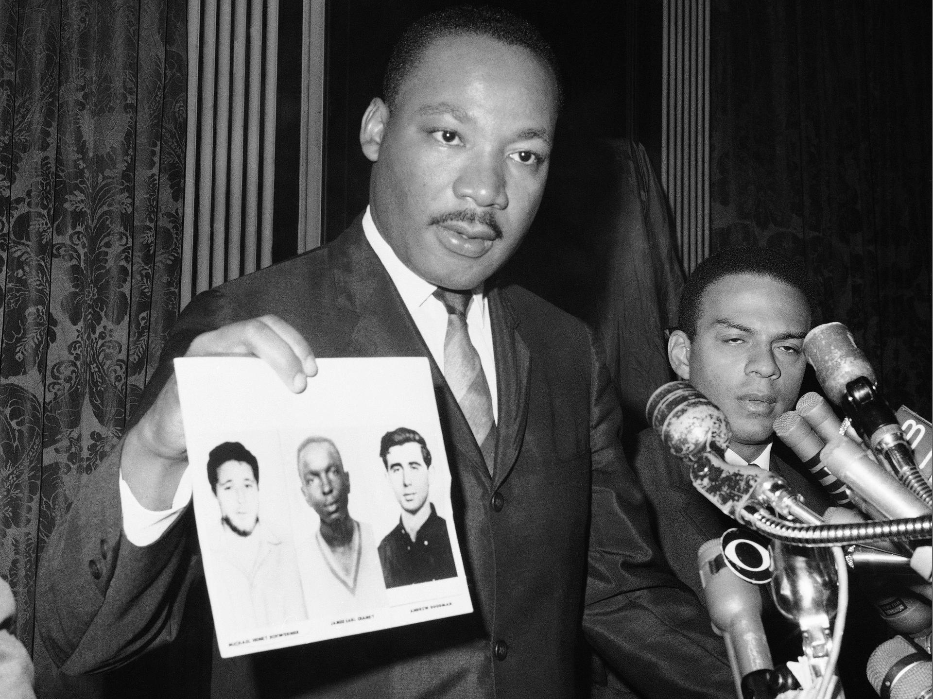 Martin Luther King Chaney Schwerner Goodman