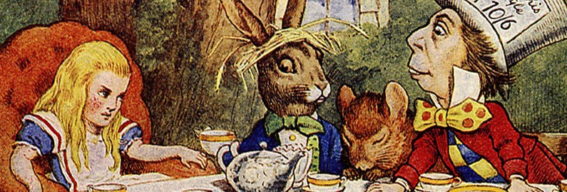 Alice in Wonderland's Hidden Satire: Math Slips Down the Rabbit Hole