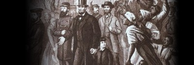 Lincoln's Tour of Richmond: President Risks Life in Ruins of Rebel Capital