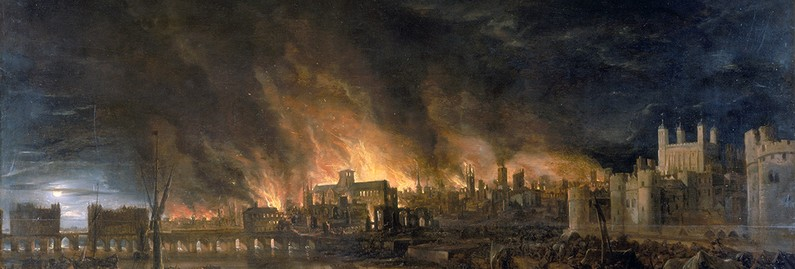 'All on Fire and Flaming at Once': London's Great Fire of 1666