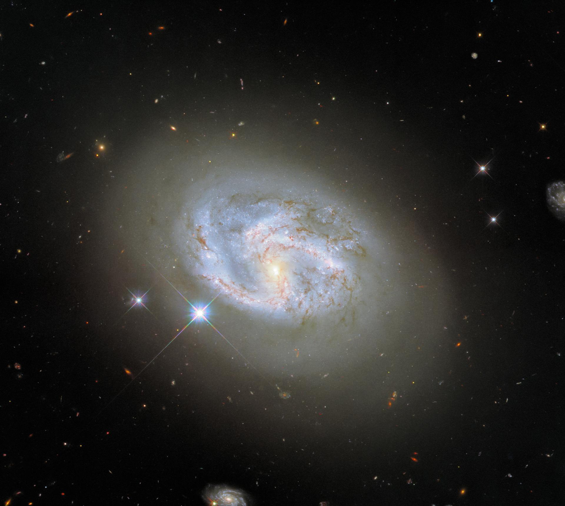 Spiral galaxy NGC 4680