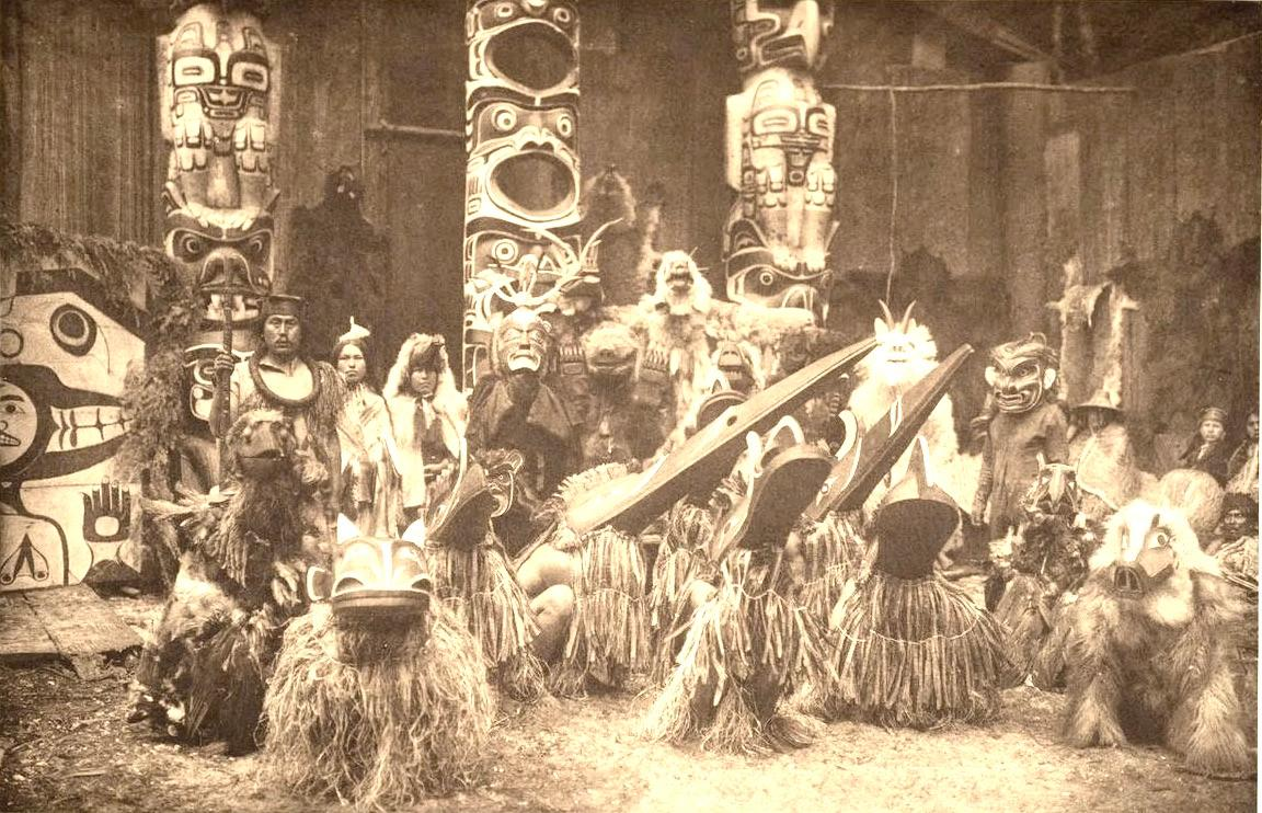 Native American potlatch ceremony