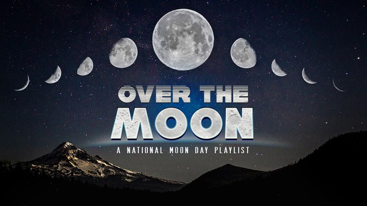 Over the Moon: A National Moon Day Playlist