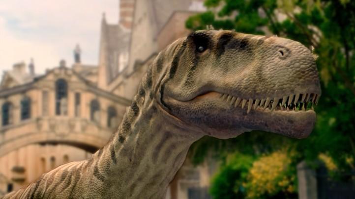 Dinosaurs Roaming London