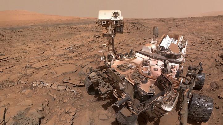 Curiosity Four Years on Mars