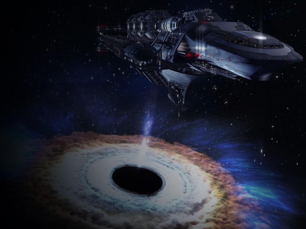 Black Hole Starship 4K