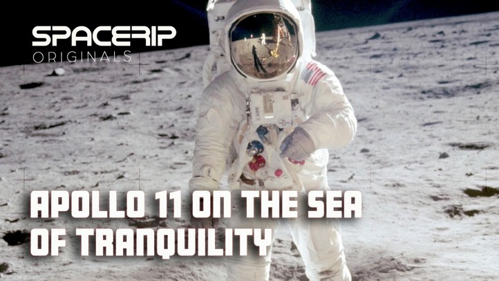 Apollo 11 on the Sea of Tranquility