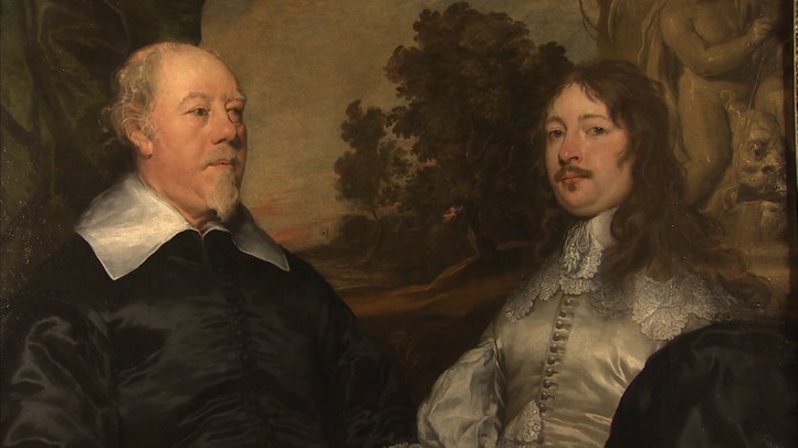 Portrait of an Old and a Younger Man by William Dobson