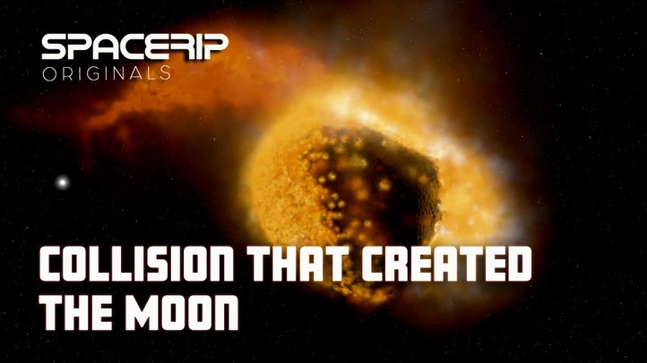 Collision that Created the Moon