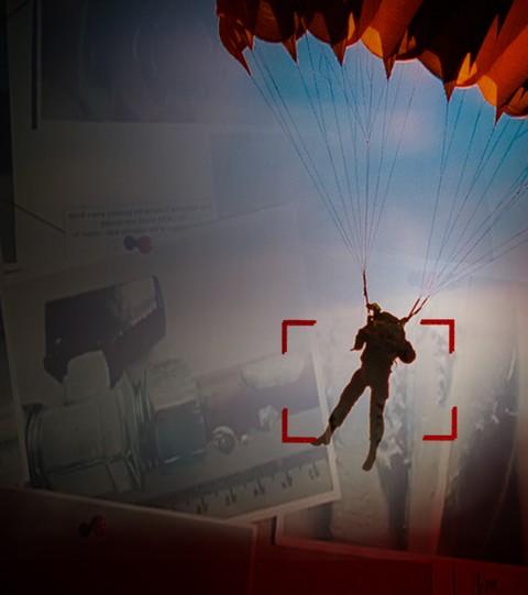 Parachute Murder Plot