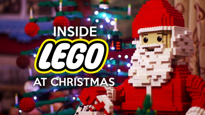 Inside LEGO at Christmas