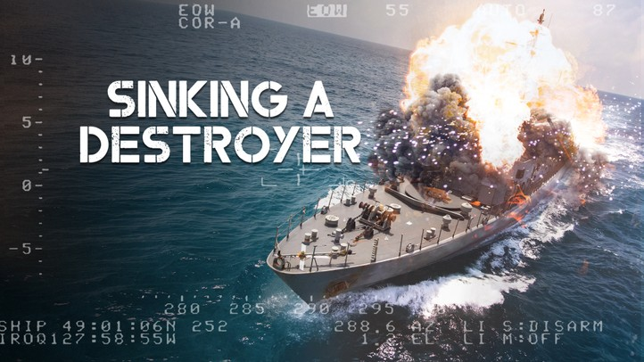 Sinking A Destroyer