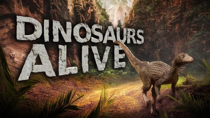 Dinosaurs Alive 4K