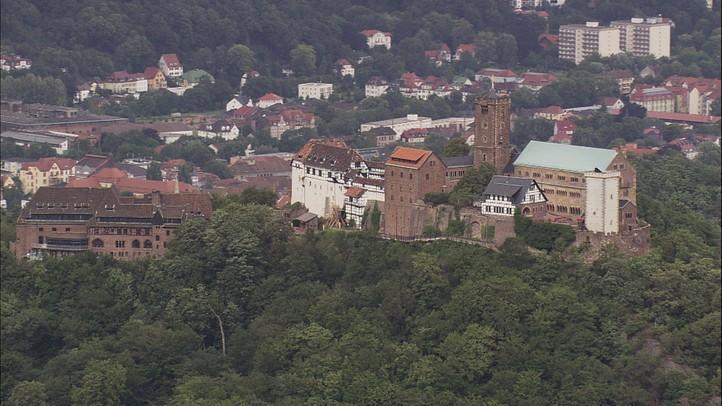 Wittenberg to Reinhardsbrunn Castle