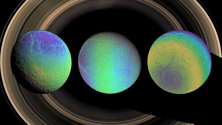 Icy Gems: Frozen Moons