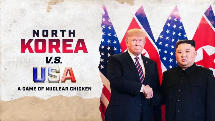 North Korea vs. USA: A Nuclear Chicken Game