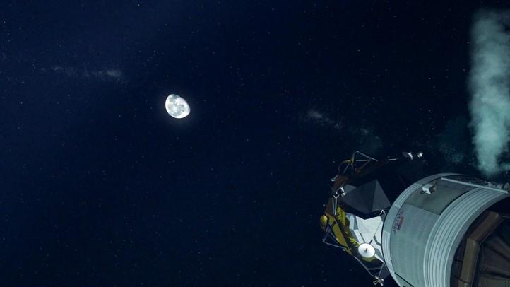 Earth to Moon